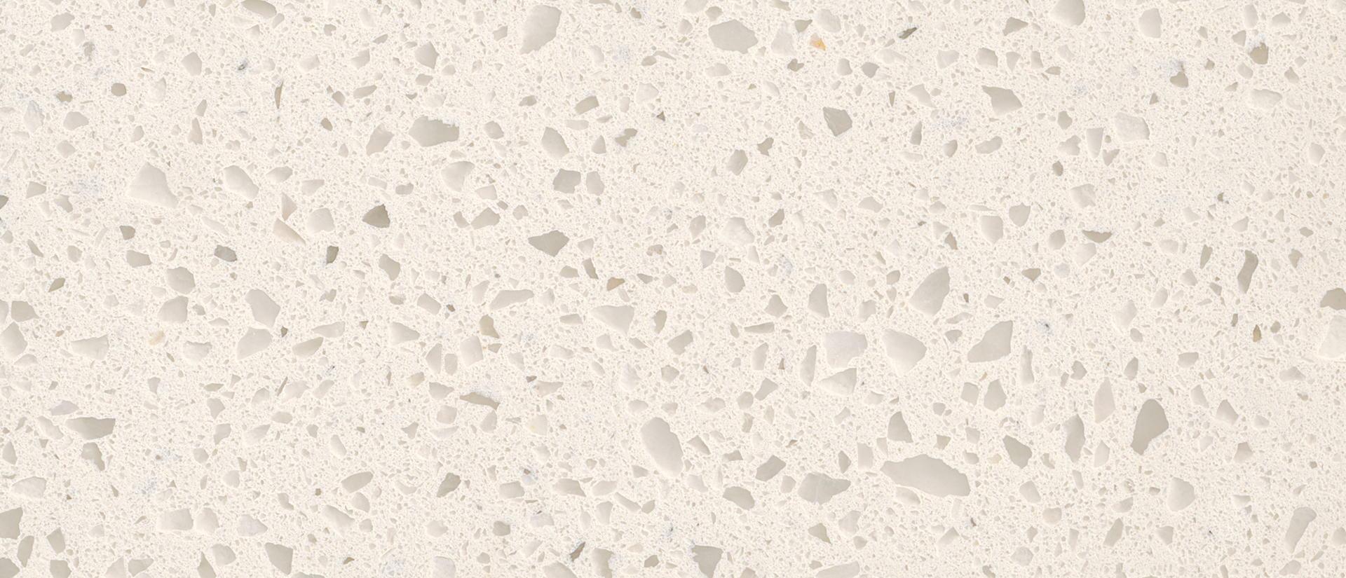 Iced White 3 Cm Quartz Tileforless